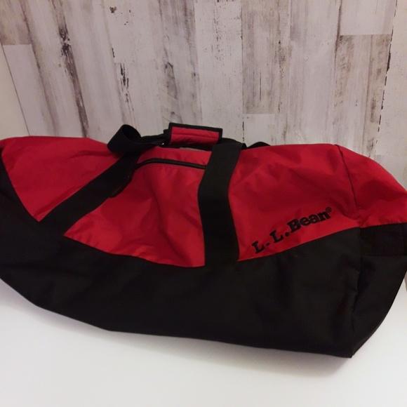 Image result for red LL bean bag